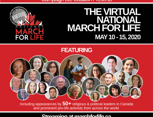 The 2020 Virtual National March for Life is set to go!